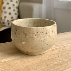 Small Speckled Stoneware Finger Bowl